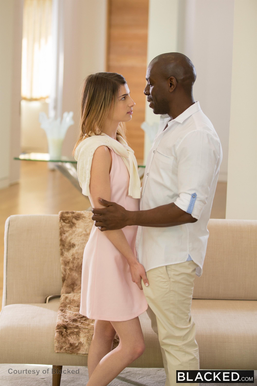 Beautiful interracial couple bathroom stock photo