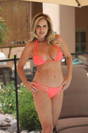 Jodi West In Coral Bikini Image