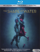 Shape of Water, The (4k Ultra HD + Blu-ray + UltraViolet)