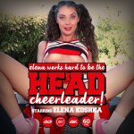 Elena Works Hard to Become the Head Cheerleader Poster Image