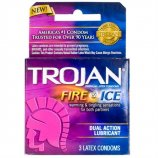 Trojan Fire & Ice Lubricated - 3 Pack Product Image