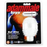 Ball Bliss Ball Sack Vibrator - Clear Product Image