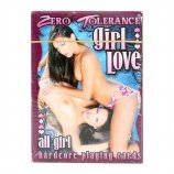 Zero Tolerance All Girl Hardcore Playing Cards Product Image