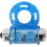 Stay Hard: Vibrating Bull Ring - Blue Product Image