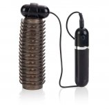Adonis 10 Function Vibrating Stroker - Black Product Image