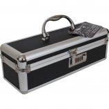 Lockable Sex Toy Storage Case - Black - Small Product Image