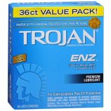 Trojan Enz Lubricated - 36 pk Product Image