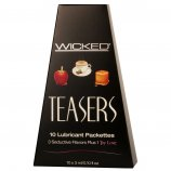 Wicked Teasers - 10 Lubricant Packettes Product Image