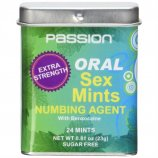 Oral Sex Mints With Numbing Agent - 24 Mints Product Image