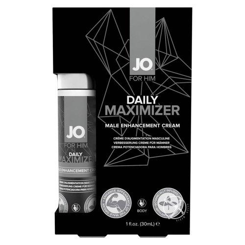 Jo Daily Maximizer Male Enhancement Cream - 1 oz. Product Image