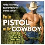Pin The Pistol On The Cowboy Game Product Image