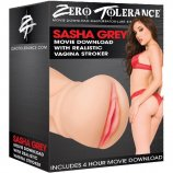 Zero Tolerance Sasha Greys Movie Download With Realistic Vagina Stroker Product Image