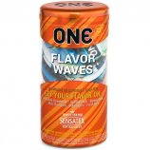 One: Flavor Wave Condoms - 12pk Product Image