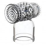 Voodoo Toys: Hummer Wand Attachment - Clear Product Image