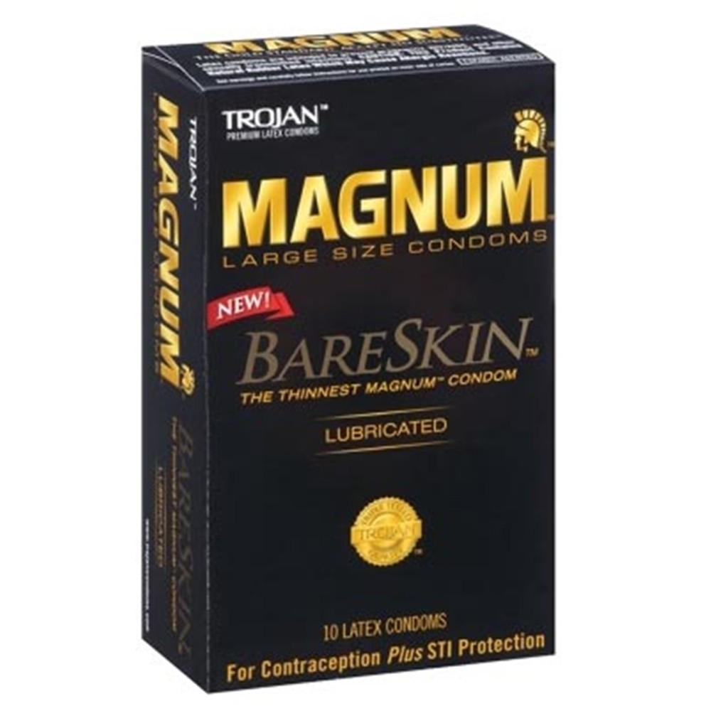 Trojan Magnum Bareskin -10 Pack  Sex Toys At Adult Empire-5673