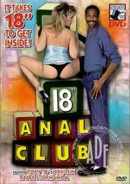 """18"""" Anal Club"""