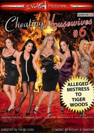 Cheating Housewives #6  Boxcover