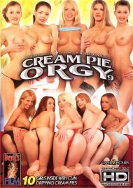 Cream Pie Orgy 9 Boxcover