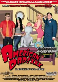 American Dad XXX: An Exquisite Films Parody Boxcover