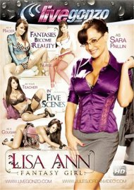 Lisa Ann Fantasy Girl Boxcover