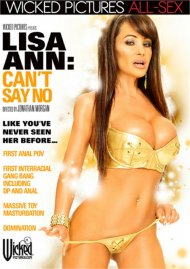Lisa Ann: Can't Say No Boxcover