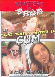 Monsters Of Jizz Vol. 9: Young Dumb & Covered In Cum Boxcover