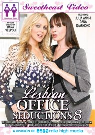 Lesbian Office Seductions 8 Boxcover