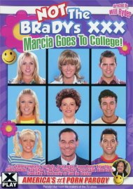 Not The Bradys XXX: Marcia Goes To College! Boxcover