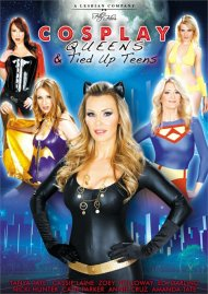 Cosplay Queens And Tied Up Teens Boxcover
