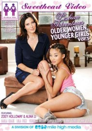 Lesbian Adventures: Older Women Younger Girls Vol. 5 Boxcover