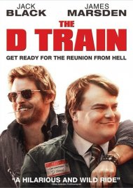 D Train, The (Blu-ray + UltraViolet) Boxcover