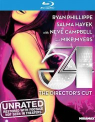 54: The Director's Cut (Blu-ray + UltraViolet) Boxcover