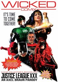 Justice League XXX: An Axel Braun Parody Boxcover