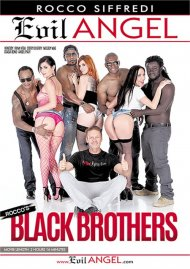 Rocco's Black Brothers porn video from Evil Angel - Rocco Siffredi.