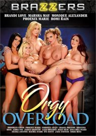 Orgy Overload porn video from Brazzers.