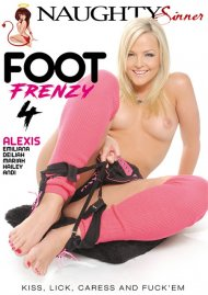 Foot Frenzy 4 porn video from Naughty Sinner.