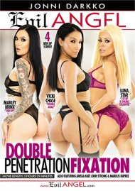 Double Penetration Fixation porn video from Evil Angel - Jonni Darkko.