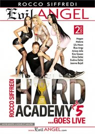Rocco Siffredi Hard Academy Part 5 . . . Goes Live Boxcover