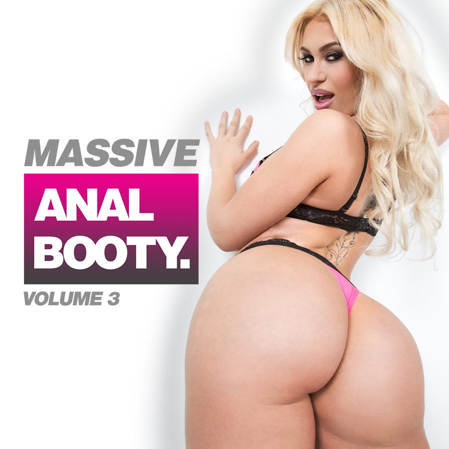 Massive Anal Booty. 3