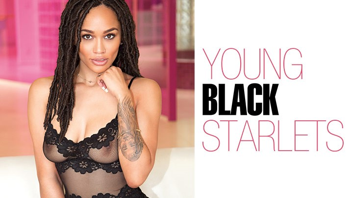 Behind the Scenes of Young Black Starlets