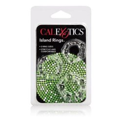 Silicone Island Rings - Clear 7 Product Image