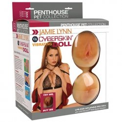 Jamie Lynn Cyberskin Vibrating Doll with Pussy & Ass 1 Product Image