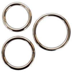 Metal Cock Ring 3-Pack 2 Product Image