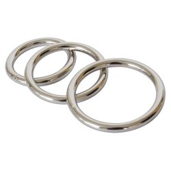 Metal Cock Ring 3-Pack 3 Product Image