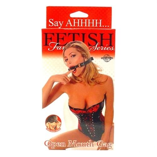 Fetish Fantasy Open Mouth Gag 2 Product Image