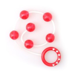 My First Anal Beads - Red 1 Product Image