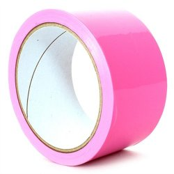 Fetish Fantasy Pleasure Tape - Pink 1 Product Image