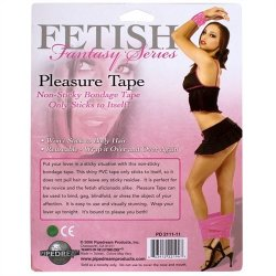 Fetish Fantasy Pleasure Tape - Pink 9 Product Image