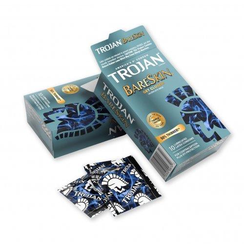 Trojan Sensitivity BareSkin Lubricated - 10 Pack 2 Product Image