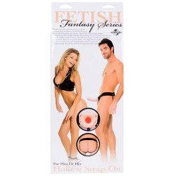 "Fetish Fantasy 6"" Hollow Strap-On - Flesh 12 Product Image"
